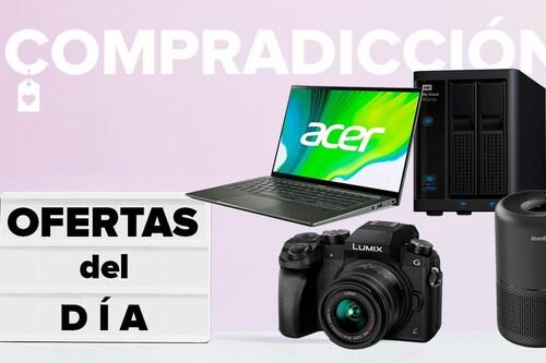 Ofertas del día en Amazon: portátiles Acer, cámaras Panasonic, servidores NAS Western Digital o purificadores de aire Levoit a precios rebajados