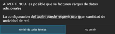 Android-x86, advertencia Wi-Fi