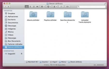 deezer mac os x apple reproductor aplicación streaming música