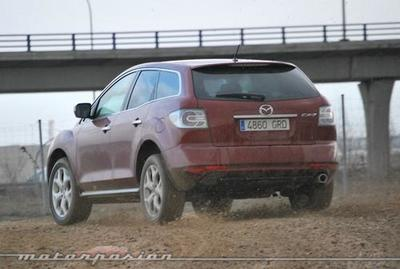 Mazda CX-7 2.2 CRTD, prueba (parte 3)