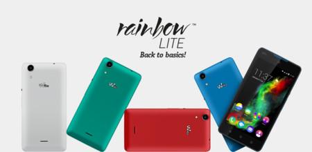 Wiko Rainbow Lite, un smartphone colorido y funcional por sólo 109 euros