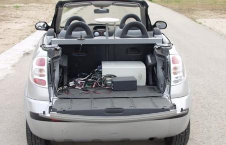 Clavileño CSIC coche autónomo