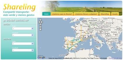 Shareling: compartiendo transporte para viajar