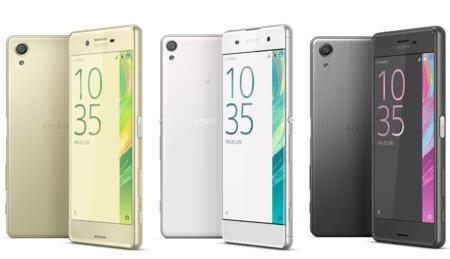 Xperia X, así es la nueva familia de teléfonos de Sony