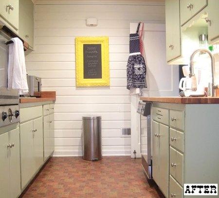 La cocina de Lexie después de la reforma.