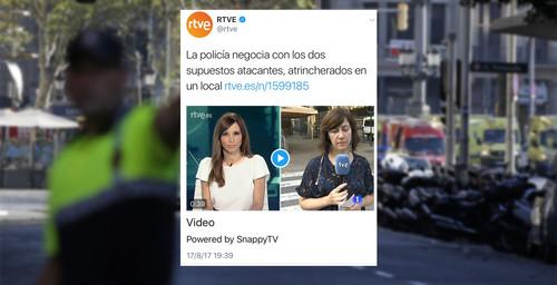 Medios y usuarios de redes deberíamos estar avergonzados del tratamiento del atentado de Barcelona