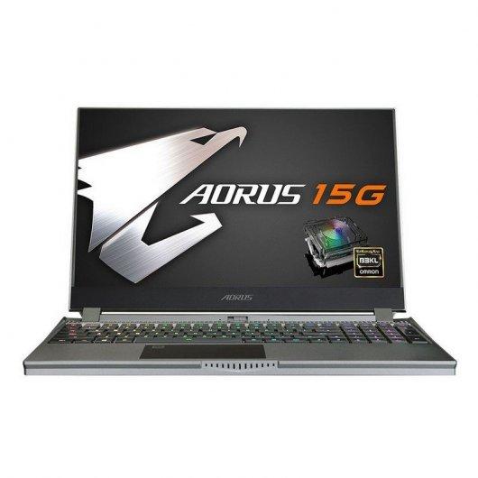 """Gigabyte AORUS 15G WB-8ES2130MD Intel Core i7-10875H/16GB/512GB SSD/RTX 2070/15.6"""""""