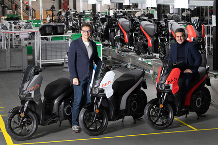 SEAT MÓ eScooter 125, inicio producción