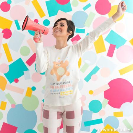 Pijamas Tezenis Mrwonderful Con Dibujo