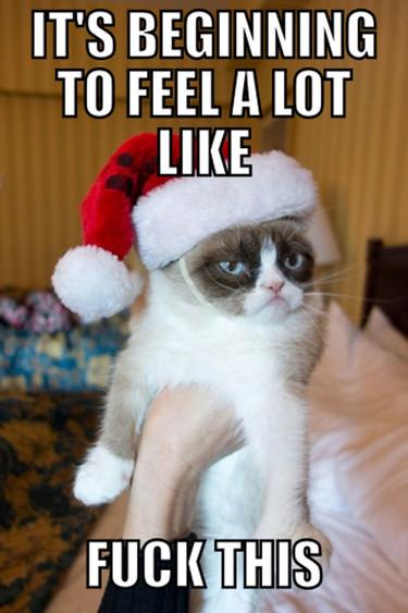 Por qué no me gusta la Navidad (y 11 gifs que lo explican)