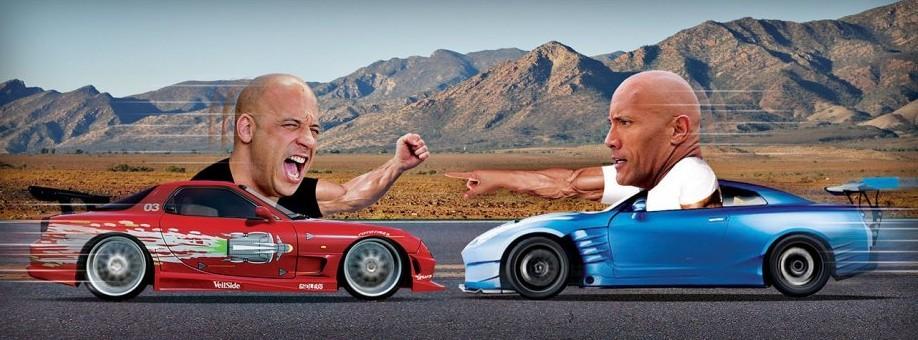 Vin Diesel Vs The Rock