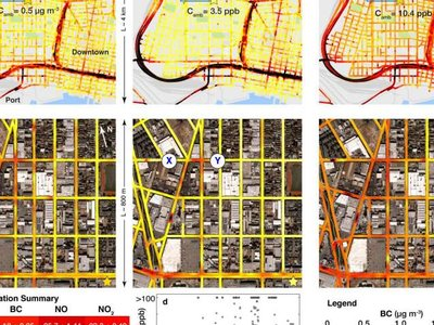 Google Street View permite medir la contaminación calle por calle