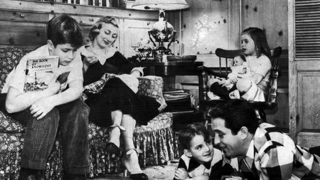 Como Family At Home 1955