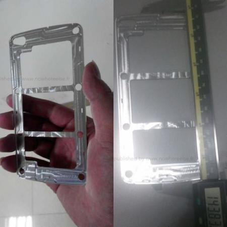 Posible chasis del Samsung Galaxy S5