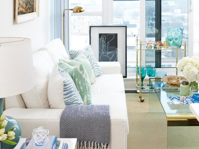 ¿Tienes una casa pequeña? 11 salones en miniatura llenos de inspiración