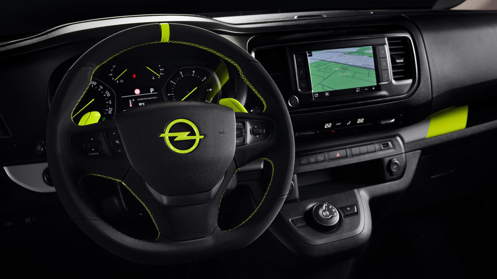 Foto de Opel Zafira Life O-Team (7/10)