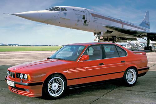 ¡Supersónico! A 290 km/h, el Alpina B10 Bi-Turbo era el Concorde de las Autobahn. Y esta es su historia