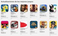 """Apple destaca las """"actualizaciones de los mejores juegos"""" en una nueva sección de la App Store"""