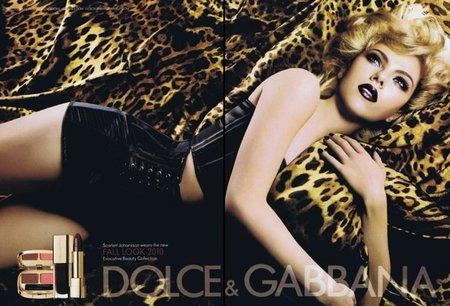 Scarlett Johansson, increíble como siempre en la nueva campaña para Dolce & Gabbana