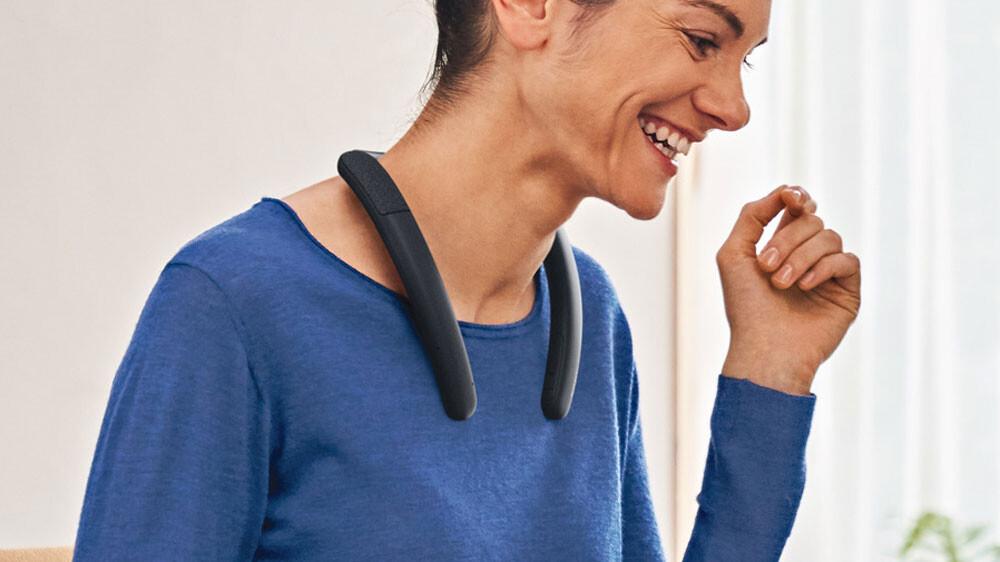 SRS-NB10: Sony trae a México su bocina portátil personal, ponla en tu cuello y escucha llamadas o música sin cancelar el sonido ambiental
