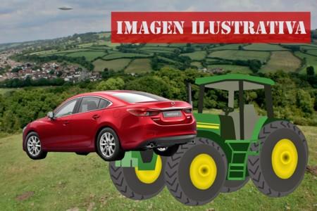 Estos dos granjeros y su tractor te enseñan por qué no debes ser un trol aparcando