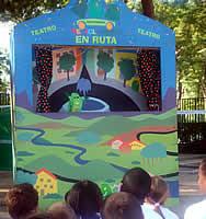 Títeres en los parques, una genial iniciativa