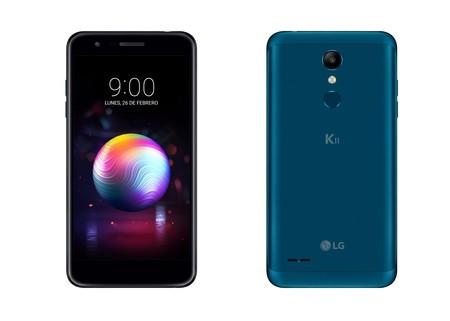 El LG K11 llega a España: un gama de entrada con NFC y cámara gran angular