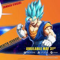 Vegetto vs. Zamasu, la batalla de las fusiones estalla en el nuevo tráiler de Dragon Ball FighterZ