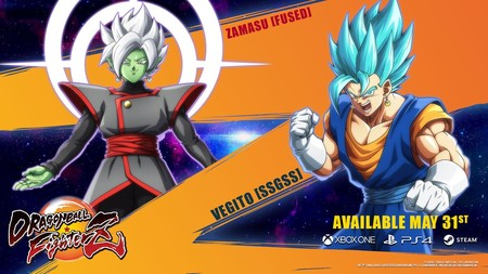 Vegetto vs. Zamasu, la batalla de las fusiones estalla en el nuevo tráiler de Dragon Ball FighterZ