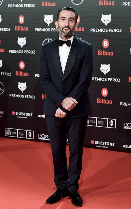 Luis Zahera Premios Feroz Alfombra Roja Red Carpet Trendencias Hombre