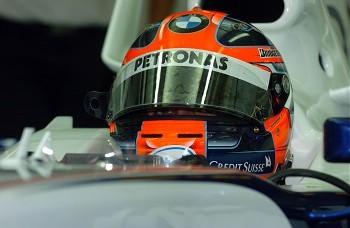 Robert Kubica BMW Sauber