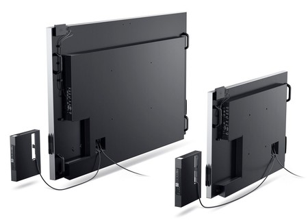 Dell 55 86 Monitors Rear