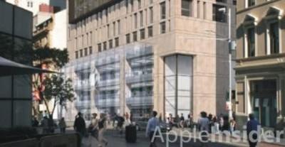 Así será la futura Apple Store de Sydney