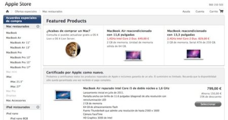 ¿Es recomendable comprar productos de Apple restaurados?