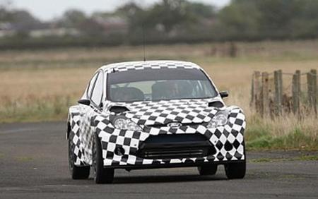 Ford ya enseña su nuevo Fiesta S2000 en movimiento