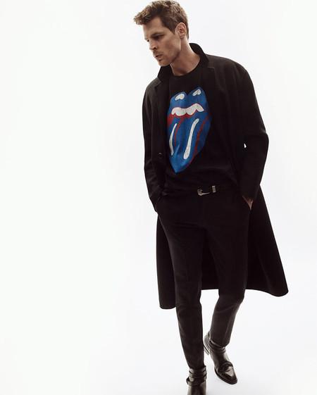 Las Piedras Siguen Rodando The Rolling Stones En Una Coleccion Unica De Zara