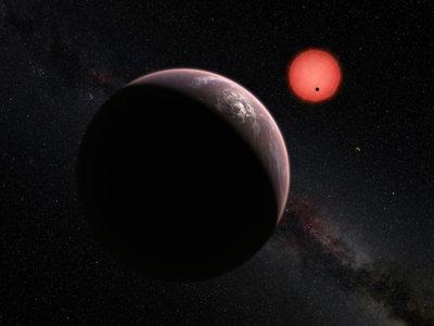 Se han descubierto tres planteas potencialmente habitables fuera de nuestro sistema solar