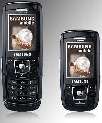 El Samsung Z720 en el catálogo de Movistar
