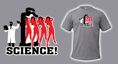 Camiseta Babe Factory: porque la ciencia mola