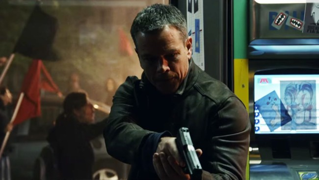 Matt Damon es Jason Bourne