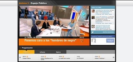 Televisión online en España, ¿cómo ofrecen las cadenas su programación en directo por internet?