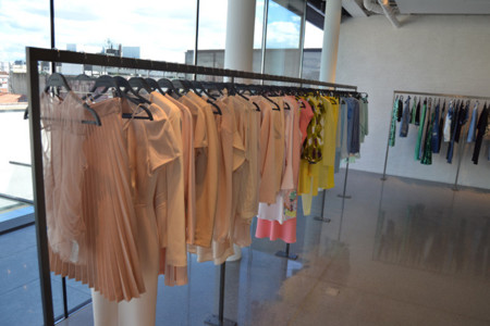 Zara moda Serrano Madrid showroom