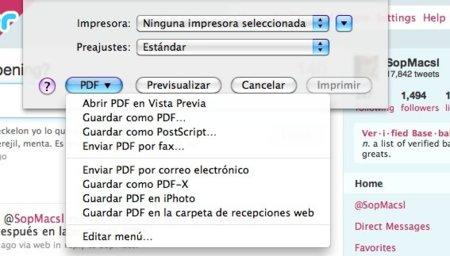 Genera documentos PDF de cualquier archivo de tu Mac