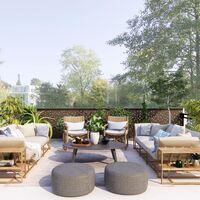 Las siete mesas más vendidas de Amazon para amueblar y disfrutar de tu terraza este verano