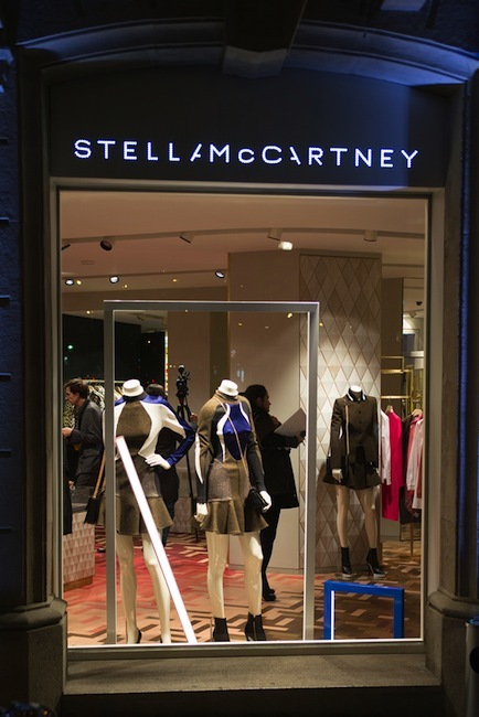 Stella McCartney inauguró su boutique en Barcelona