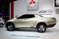 Mitsubishi GR-HEV, concept pick-up híbrido diésel