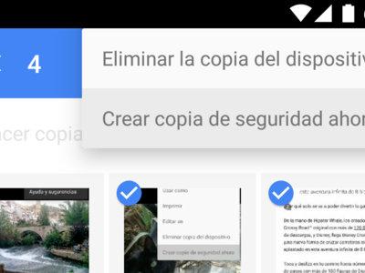 Google Fotos ya te permite hacer una copia de seguridad manual y una copia de tus ediciones