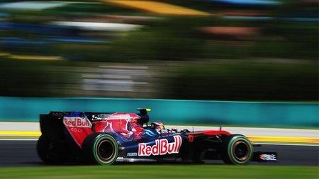 GP de Hungría de Fórmula 1: Jaime Alguersuari sufre una rotura de motor y se ve obligado a abandonar