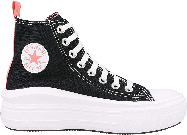 CONVERSE CTAS Move HI Zapatos Deportivos para Mujer Negro 271716C
