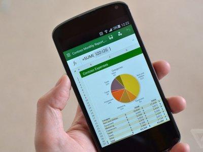 Microsoft Office para Android disponible para smartphones